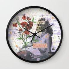Buena Wall Clock