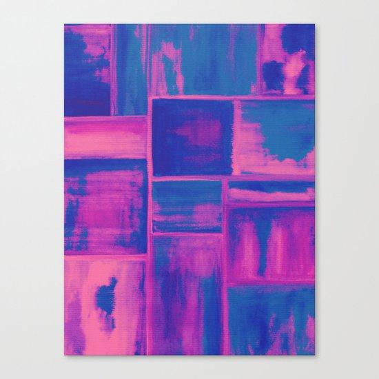 Watercolor abstract 27 Canvas Print