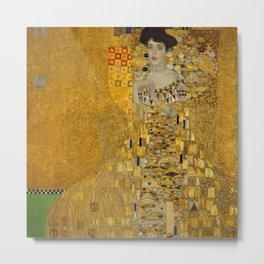 Gustav Klimt - Bloch Bauer Metal Print