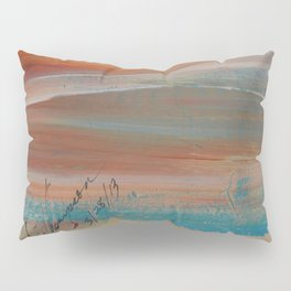 Sunset Heart Pillow Sham