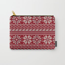 Pattern in Grandma Style #19 Carry-All Pouch