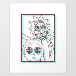 i'M TRiPPY RiCK! Art Print