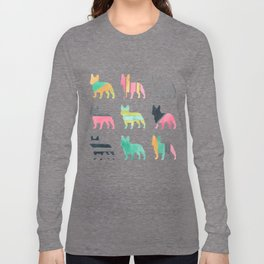 French Bulldogs Long Sleeve T-shirt