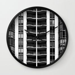 Feelin Wavy Baby Wall Clock