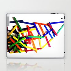 My colored house Laptop & iPad Skin
