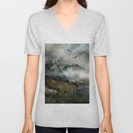 Eagle Mountains Unisex V-Neck
