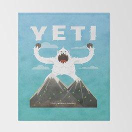 Yeti Throw Blanket