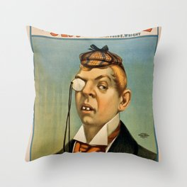 Vintage poster - Lord Archibald Cunningham Throw Pillow