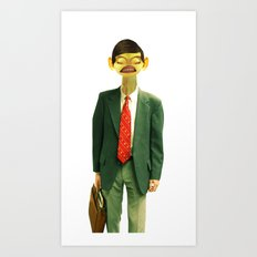 Mr. English Art Print