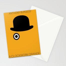 Horror Film Minimalist Poster  Stationery Cards