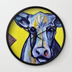 La Vache Wall Clock