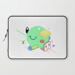 Tasty Visuals - Sandwich Time (No Grid) Laptop Sleeve