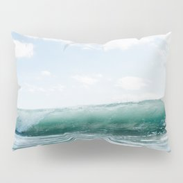Wave Crash - Tropical Crash Pillow Sham