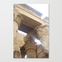 egypt Canvas Prints featuring Egypt by Carissa W.