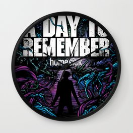 A DAY TO REMEMBER HOMESICK TOUR DATES 2019 BAKPAU Wall Clock
