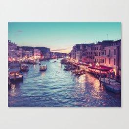 Grand Canal Venice Canvas Print