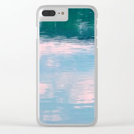 Mon River Morning Clear iPhone Case