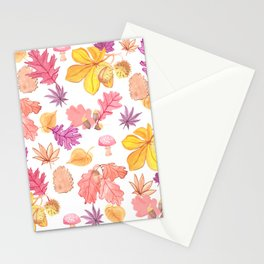 Autumn Medley Stationery Cards
