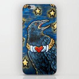 Claddagh Raven iPhone Skin