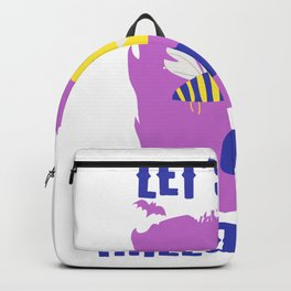 Let's Get Halloweird 10 Giant Bee Monster Backpack