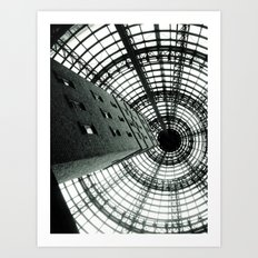 Central Shot Art Print