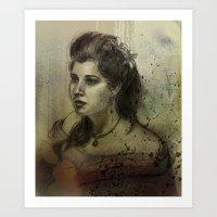 Elisabeth Art Print