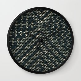 Black Assuit Wall Clock
