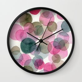 Pink dot festival Wall Clock
