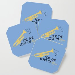 For The Love of Music Coaster