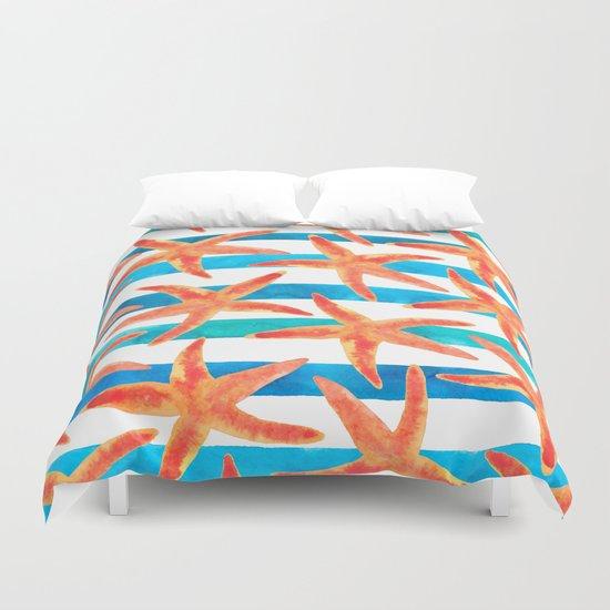 Starfish Tropics Duvet Cover