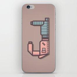 Alphabet Drop Caps Series- J iPhone Skin