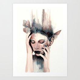 Engulfed Art Print