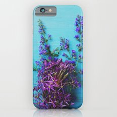 She Found Stray Flowers and Brought Them Home Slim Case iPhone 6s