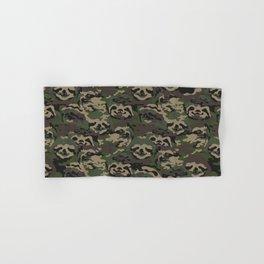 Sloth Camouflage Hand & Bath Towel