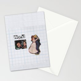 Connection To one Another Stationery Cards