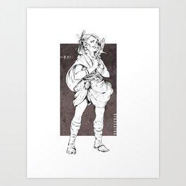 Vulpecula - The Fox Art Print