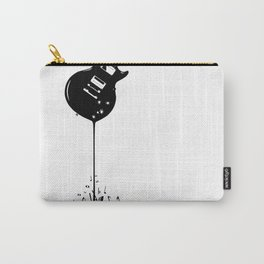 Bubbling Musical Notes Carry-All Pouch