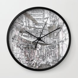Hong Kong. China.  behing Roast Duck restourant Wall Clock