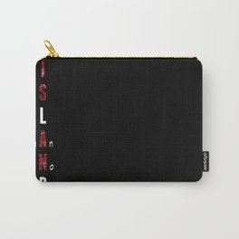 BWR No. 1. Island (black) Carry-All Pouch