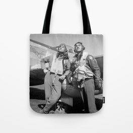 Tuskegee Airmen -- World War II Tote Bag