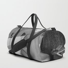 Bath in Paris, Cold Water Flat, Female Nude black and white art photography / photograph Duffle Bag