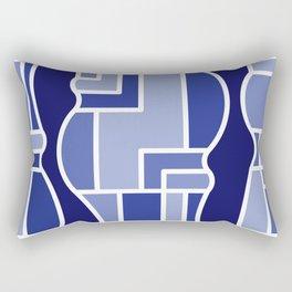 Amoebaean Rectangular Pillow
