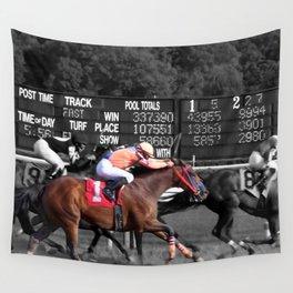 Race horses Wall Tapestry