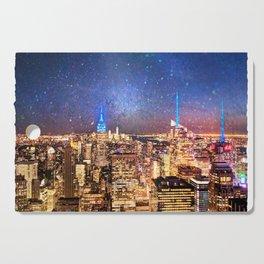 Night Shine - New York Cutting Board