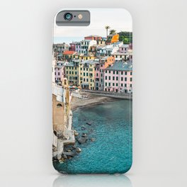 Vernazza, Italy (Landscape) iPhone Case