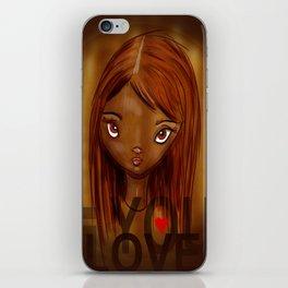 Loving mood iPhone Skin