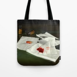 Bullet extraction Tote Bag