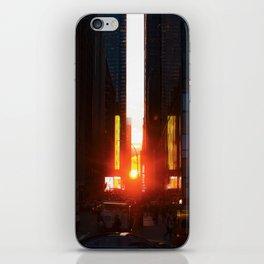 ManhattanHenge iPhone Skin