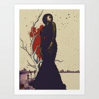Dreaming of Revelry v.2 Art Print