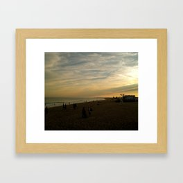 Lil'Rhody. Framed Art Print